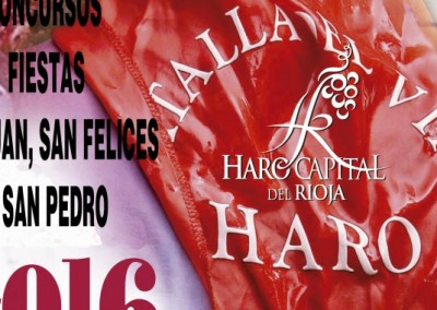 La Batalla del Vino en Haro 2016