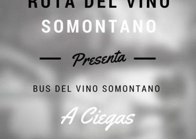 Bus del Vino Somontano A Ciegas