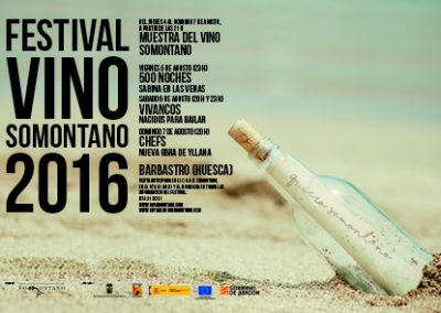 Festival del Vino Somontano 2016