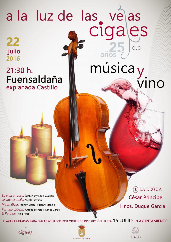 """La DO Cigales  """"Música y Vino a la luz de las velas"""""""