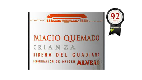Palacio Quemado Crianza 2015