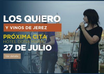Vinos de Xerez y Música en Sevilla.