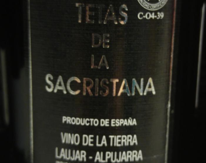Tetas de La Sacristana Tinto 2013