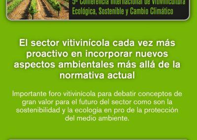 EcoSostenibleWine 2016.     EL 4 NOVIEMBRE EN VILAFRANCA DEL PENEDÈS