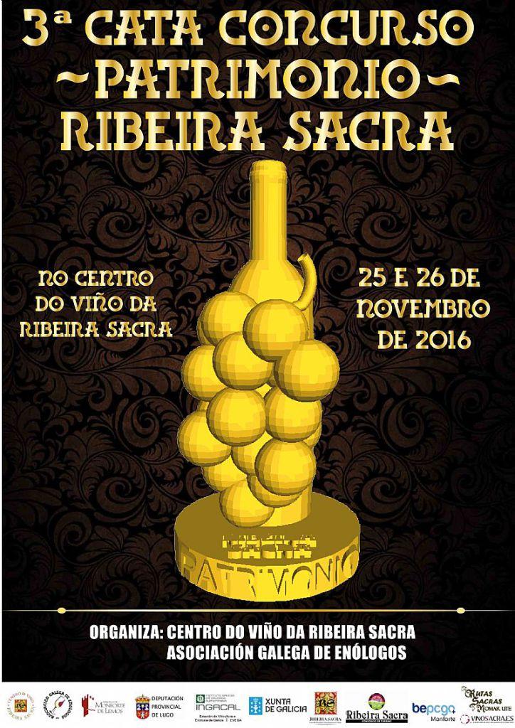 3ª Cata Concurso Patrimonio Ribeira Sacra. del 25 al 26 Noviembre 2016
