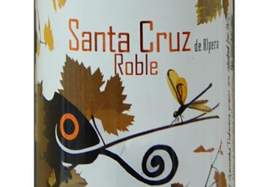 Santa Cruz de Alpera Roble 2015