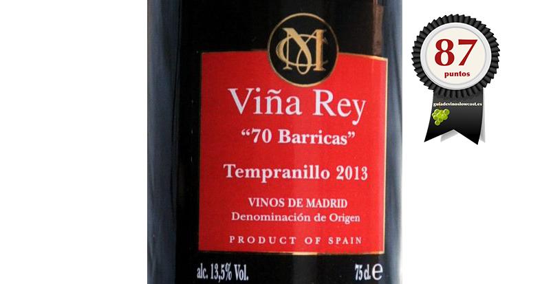 Viña Rey 70 barricas 2014