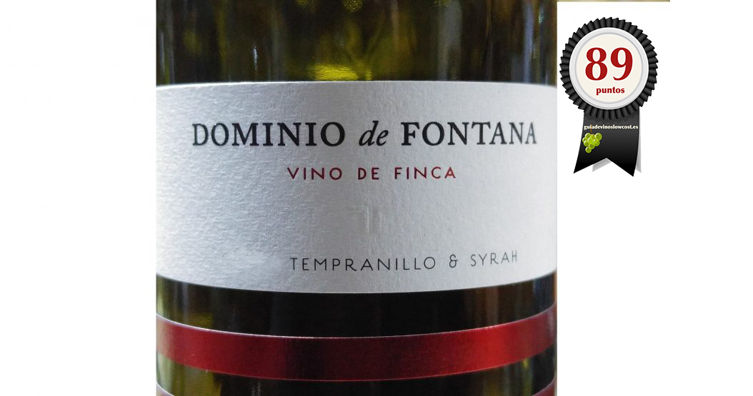 Dominio de Fontana Roble 2016