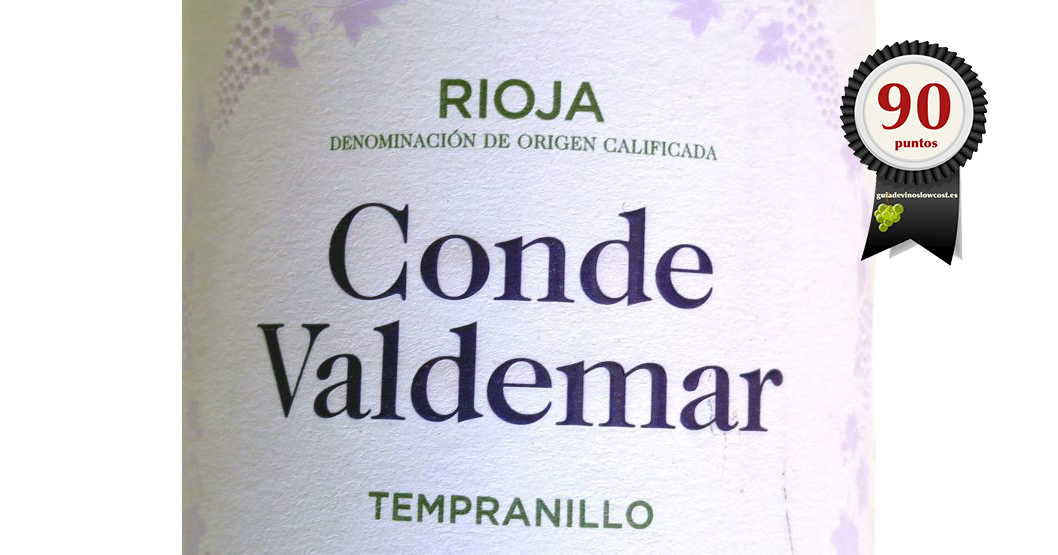 Conde Valdemar Tempranillo 2018