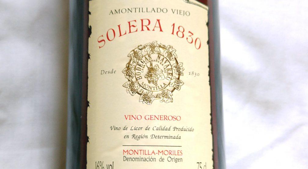 AMONTILLADO SOLERA 1830