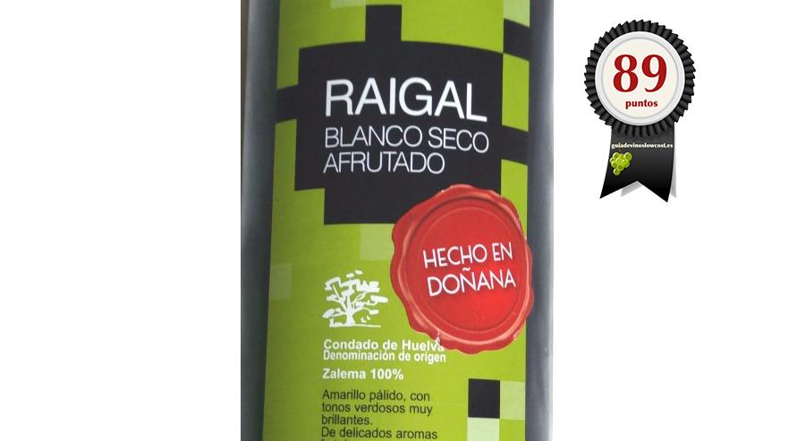 Raigal. Blanco Seco Afrutado 2017