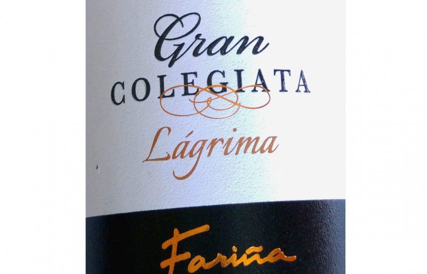 Gran Colegiata Vino de Lágrima 2015