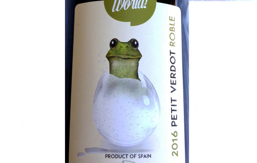 Hello World Petit Verdot Roble 2016