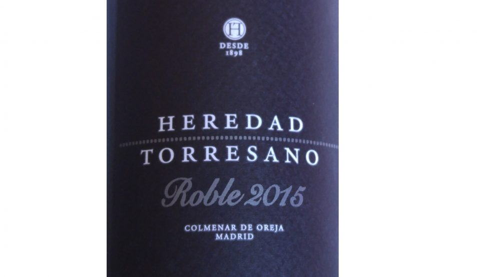 Heredad Torresano Roble 2015