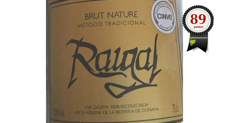 RAIGAL. ESPUMOSO BRUT NATURE