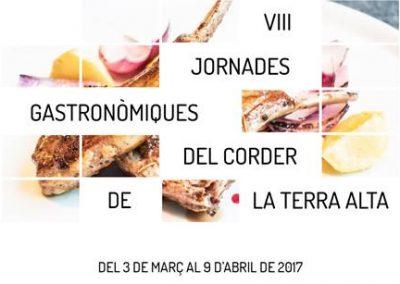VIII JORNADAS GASTRONÓMICAS DEL CORDERO CON VINOS DO TERRA ALTA