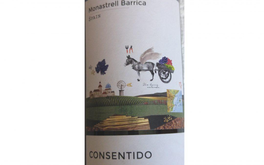Consentido Monastrell Barrica 2015