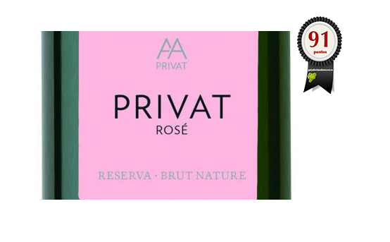 AA Privat Rosé Brut Nature 2015 (Eco)