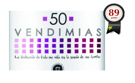 50 Vendimias Rosado 2018
