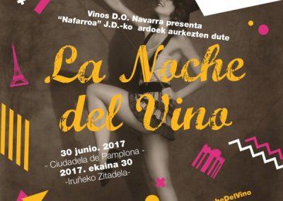 """X Edición """"La Noche del Vino"""" el 30 de junio en la Ciudadela de la capital navarra"""