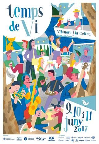 La feria vilanovina Tiempo de Vino,  6 edición, del 9 al 11 de junio