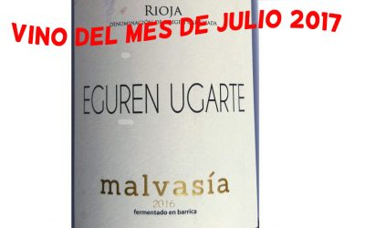 Eguren Ugarte Malvasía 2016