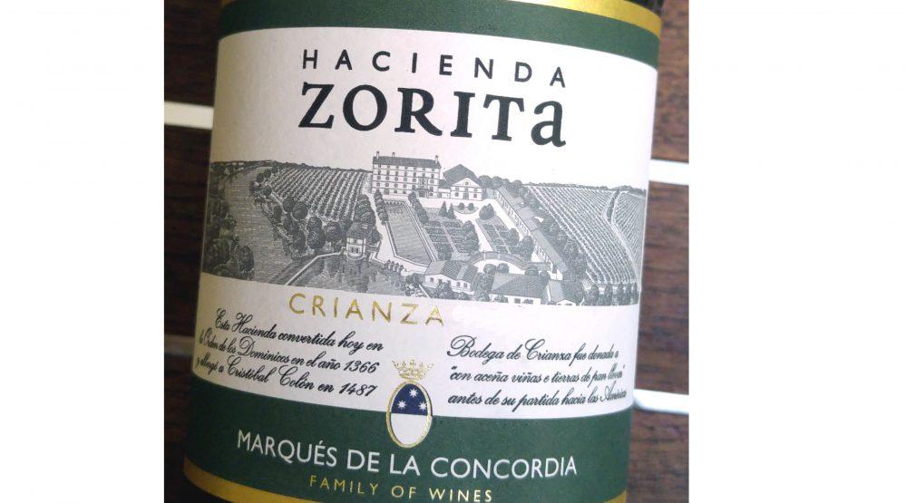 Hacienda Zorita Crianza 2013