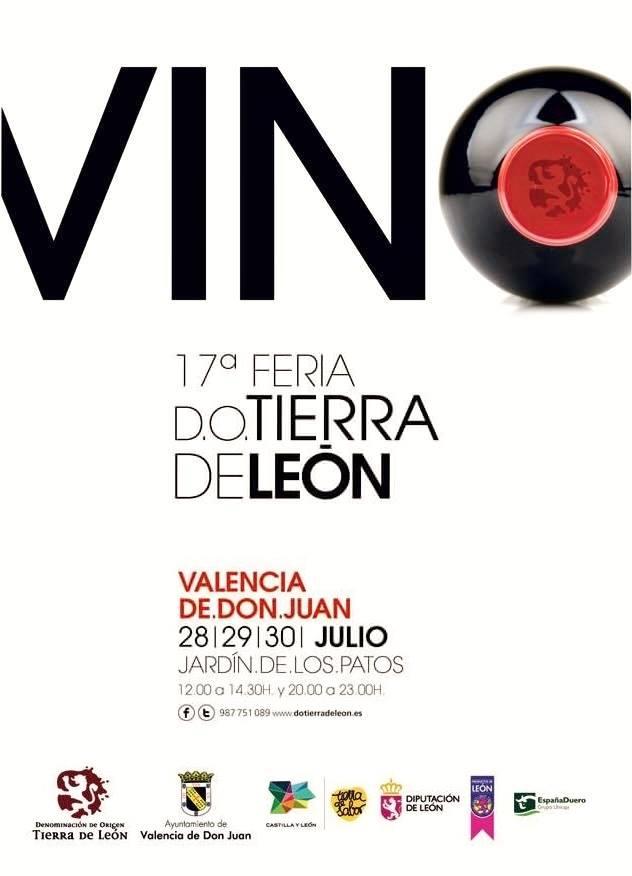 17 Feria D.O. Tierra de León, 28 al 30 julio en Valencia de Don Juan
