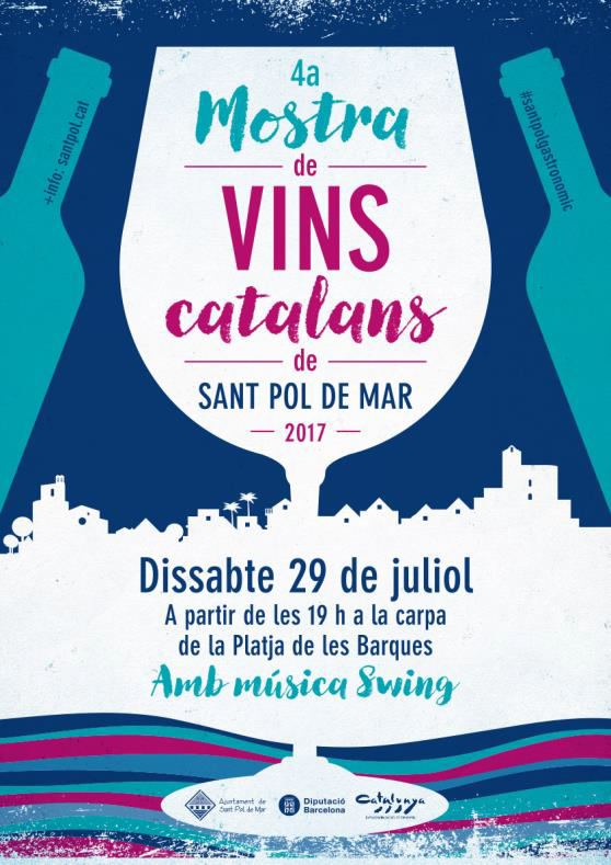4ª muestra de vinos de Sant Pol de Mar, 29 de julio