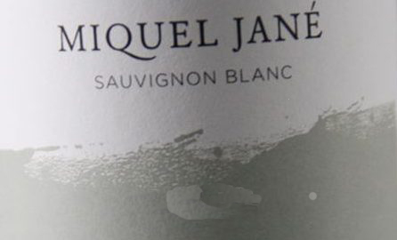 Miquel Jané Sauvignon B. 2016