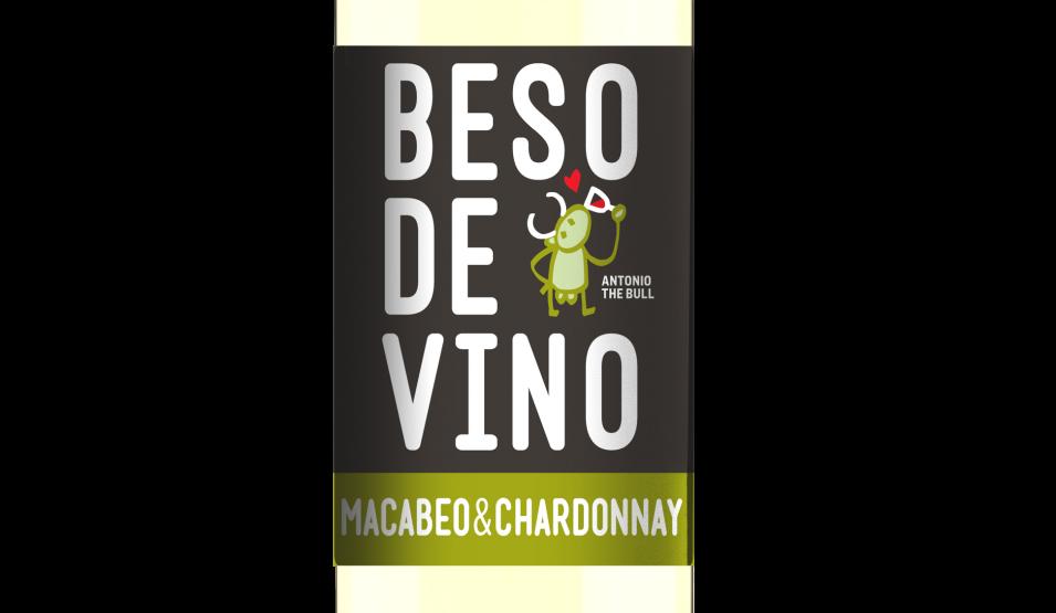Beso de Vino Macabeo Chardonnay 2016