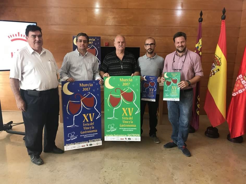 XV Feria del Vino y Gastronomía 'Gastrovir' comenzará el próximo 31 de agosto  en Murcia