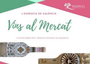 Vuelve Vins Al Mercat con una selección de los mejores vinos de la DOP Valencia, 19 Octibre