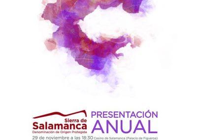Presentación Anual D.O.P. Sierra de Salamanca, 29 de noviembre