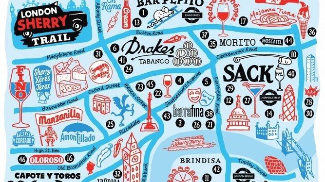 Sherry Bars para irse de ruta por Londres