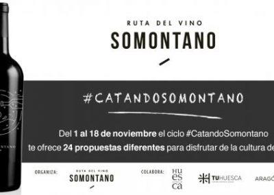 La Ruta del Vino Somontano, 4 edición del 1 al 18 de noviembre