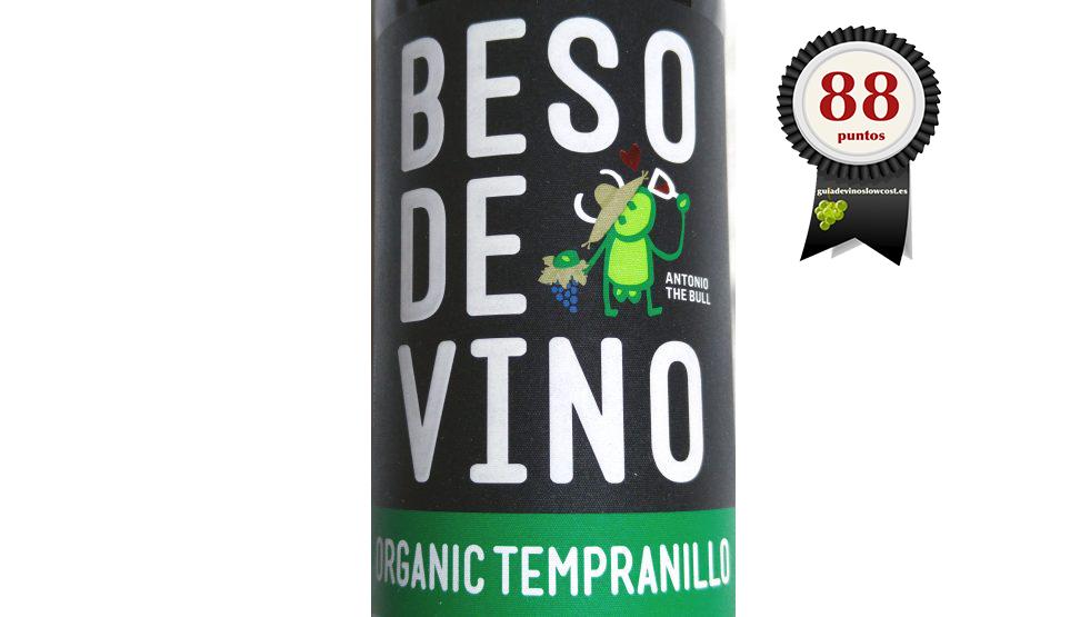 Beso de Vino Tempranillo Ecológico 2017