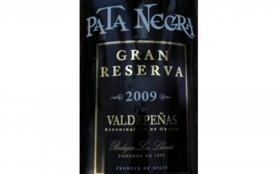 Pata Negra Valdepeñas Gran Reserva 2009