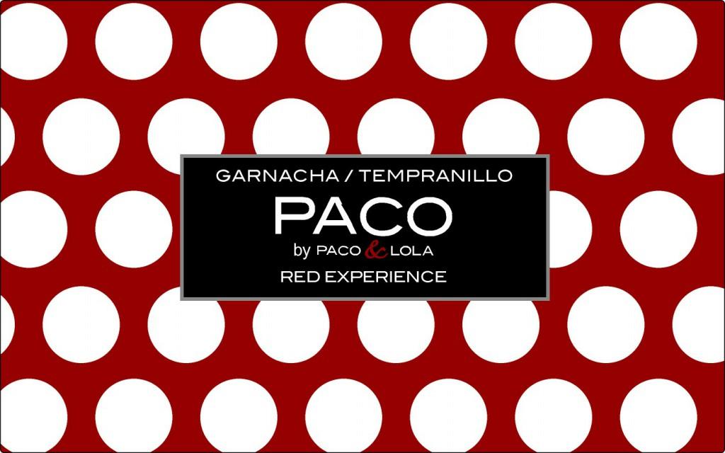 Paco Tinto 2016