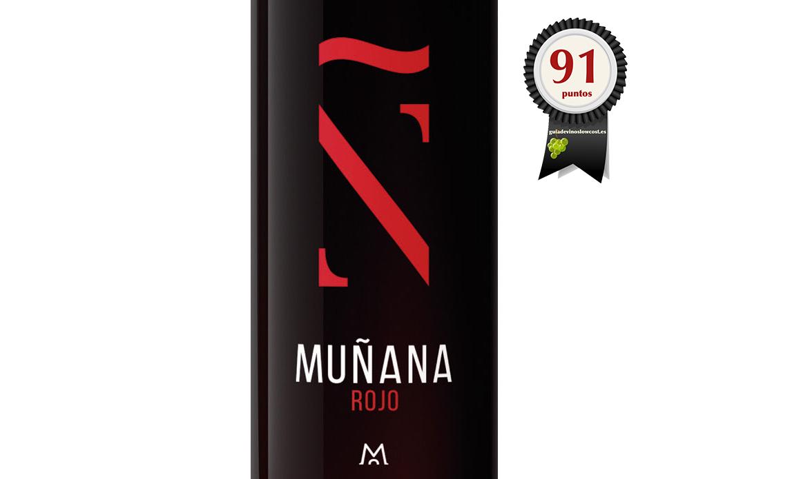 Muñana Rojo 2015