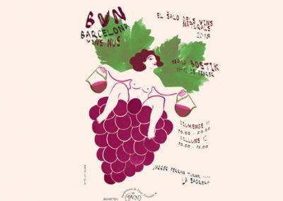Feria de vinos naturales de Barcelona #VinsNus2018, del 11 y 12 de febrero