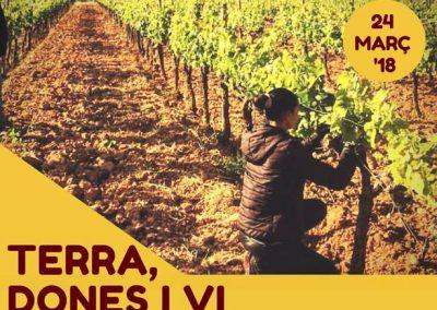 DO TERRA ALTA  JORNADAS LAS MUJERES DEL VINO, 24 DE MARZO EN GANDESA