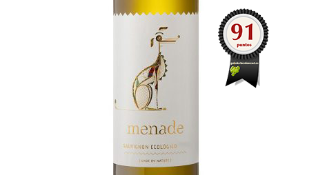 Menade Sauvignon Blanc Ecológico 2018
