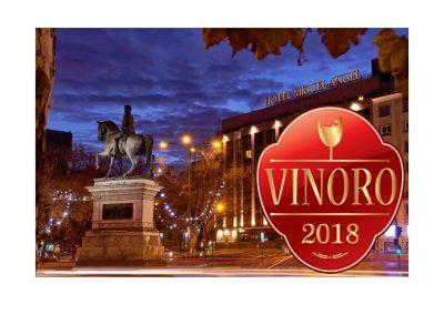 Vinoro presenta los vinos de oro del 2018 en la edición de primavera. 23 de Abril en Madrid