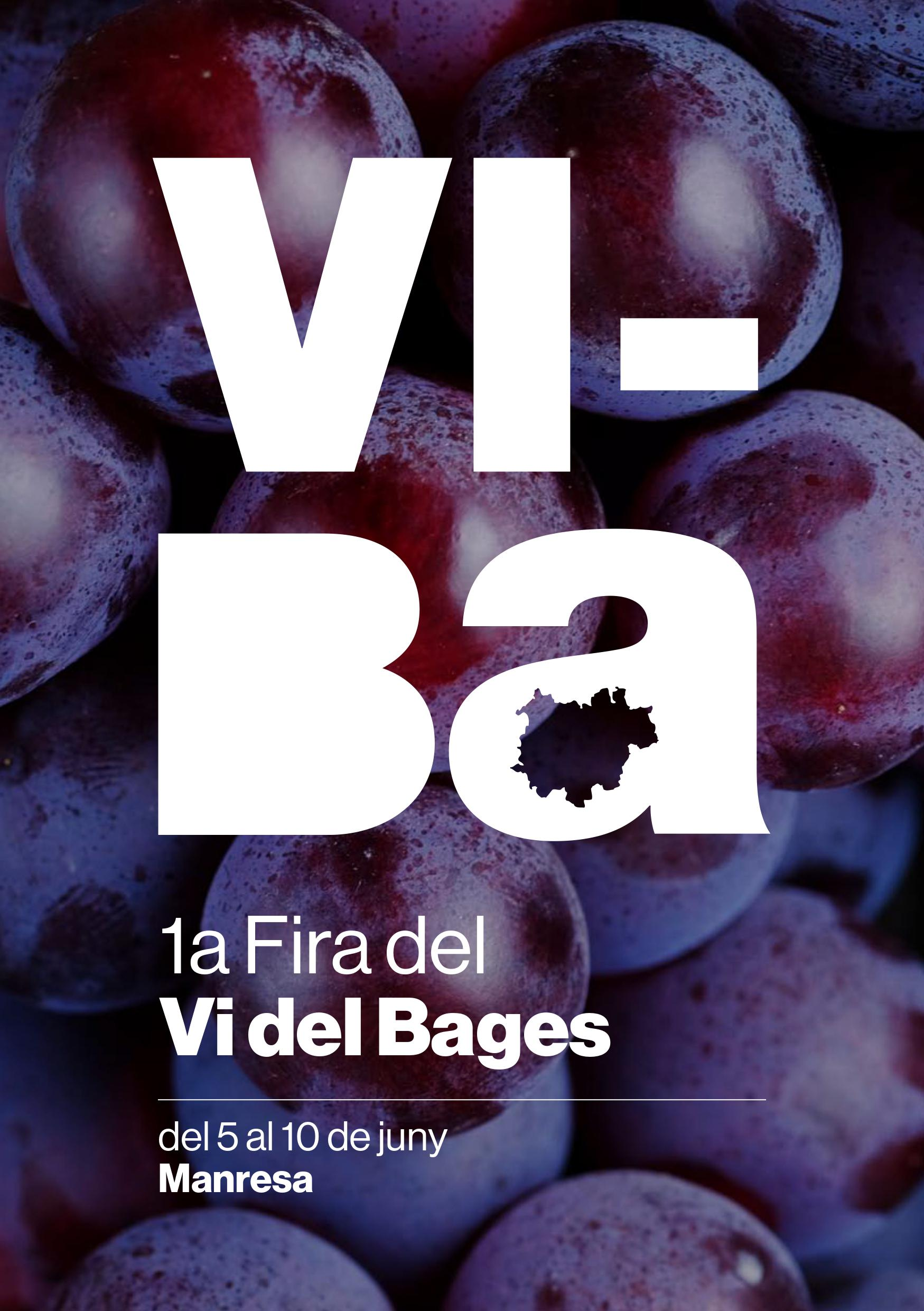 La 1ª Feria del Vino del Bages se celebrará en Manresa los próximos 8, 9 y 10 de junio
