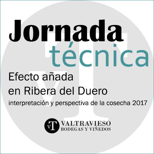 I Jornadas: Efecto añada en Ribera del Duero: interpretación y perspectiva de la cosecha 2017, 24 de mayo