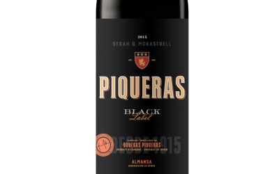 Piqueras Black label 2015 Ecológico