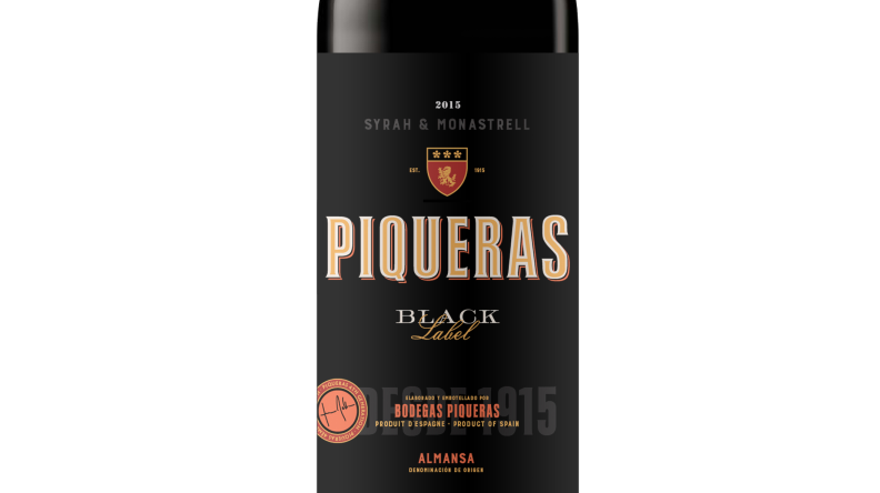 Piqueras Black label 2015 Ecológico