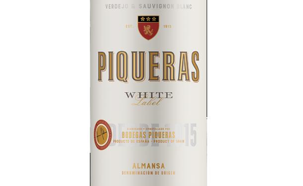 Piqueras White Label 2017 Ecológico