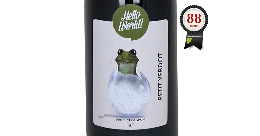 Hello World Petit Verdot Roble 2017